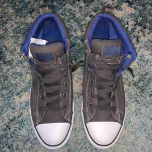 Men's Converse Sneakers BNWT Size 10 Gray & Blue